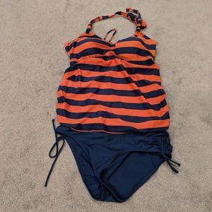 Maternity tankini bathing suit